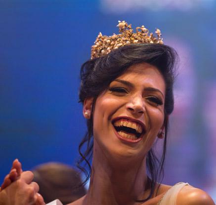 이스라엘 첫 성전환 미인대회서 '가톨릭교도' 우승