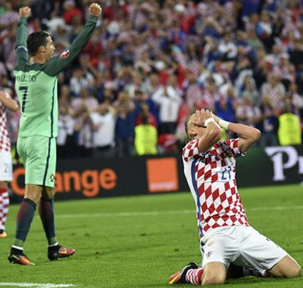 [유로2016] 포르투갈, 연장 끝 크로아티아 잡고 8강행