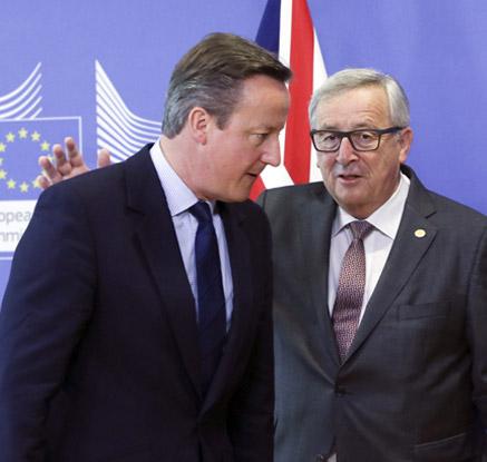 EU-英 정상, 브렉시트 후 첫 만남…협상시점 절충