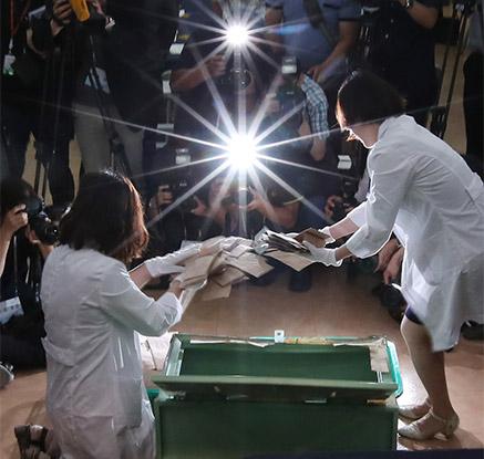 29년만에 열린 '판도라의 상자'…13대 대통령선거 투표함 개봉
