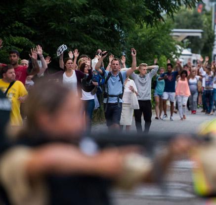 '4일만에 또' 독일 총기난사 테러…수십명 사상·총격범 자살