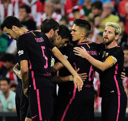 바르셀로나, 빌바오 1-0 제압…개막 2연승