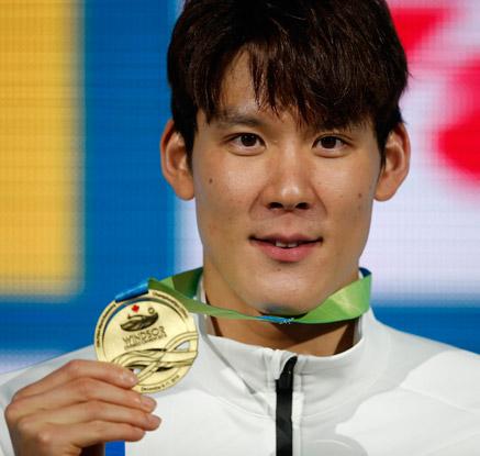 박태환, 쇼트코스 세계선수권 2관왕…아시아신기록