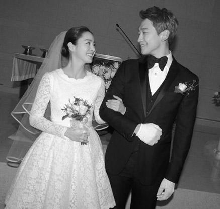 비-김태희, 007같은 비공개 결혼식