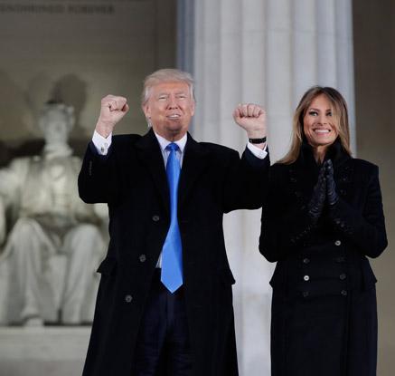 트럼프 시대 개막…트럼프 45대 美대통령 공식 취임