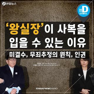 [카드뉴스] '왕실장' 사복 특검 출석이 가능한 이유