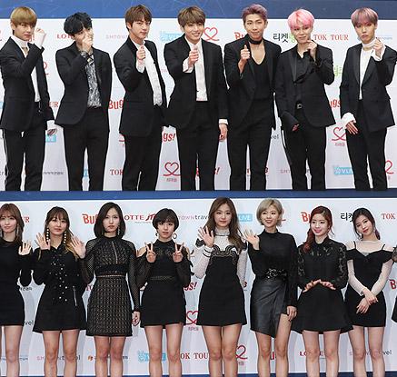 방탄소년단·트와이스 등 총출동…2017 가온차트 K-POP 어워드