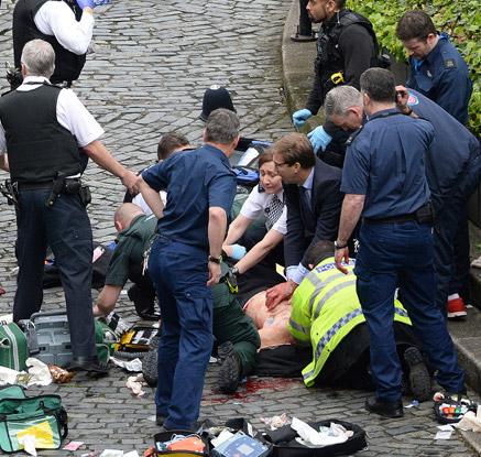 영국 국회의사당 주변서 테러…한국인 5명 포함 20명 부상