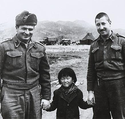 '사진에 담긴 한국전의 터키군인'