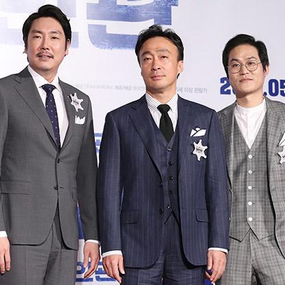 영화 '보안관' 조진웅-이성민-김성균, 5월 극장가 녹인다