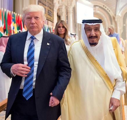 취임 첫 해외순방 나선 트럼프, 이슬람권과 '밀착' 시도