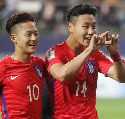 [U20월드컵]한국, 아르헨 2-1 제압…U-20 월드컵 16강 진출