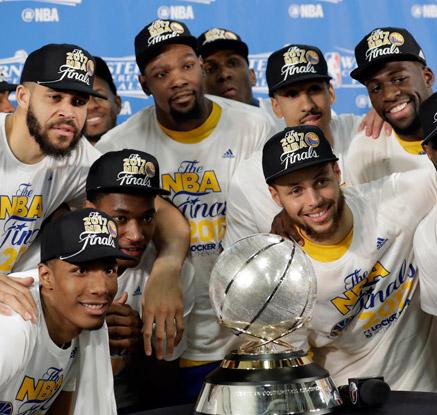 골든스테이트, 3년 연속 NBA 챔피언결정전 진출
