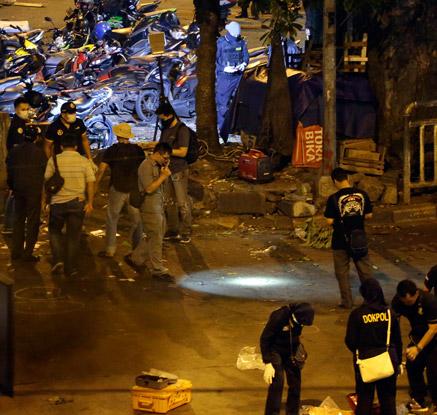 자카르타 버스정류장서 자살폭탄 테러…3명 사망·10명 부상