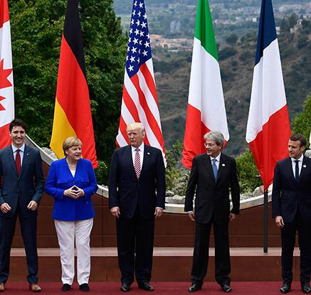 G7, 이탈리아서 정상회의 돌입