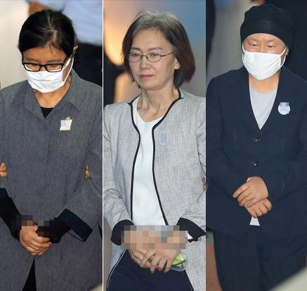 '국정농단' 최순실 첫 유죄 징역 3년…이대비리 9명 모두 유죄