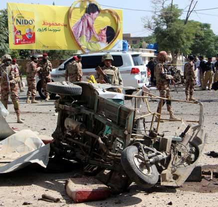 파키스탄서 잇단 테러 발생…38명 사망·120명 부상