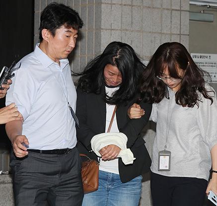'문준용 의혹 허위제보' 국민의당 당원 긴급체포