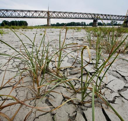60년 만의 가뭄…타들어가는 이탈리아