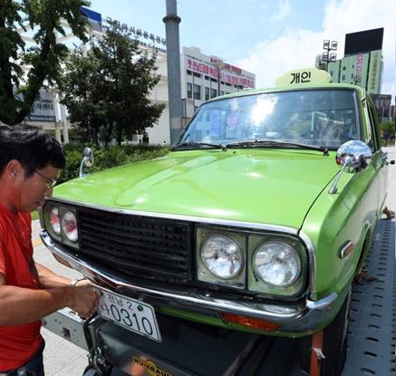 천만관객 태우고 5·18 역사현장에 온 '택시'
