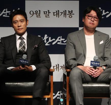 이병헌X김윤석이 그린 조선 굴욕사…영화 '남한산성' 제작보고회