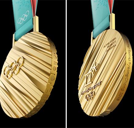 문 대통령, 평창올림픽 홍보행사 참석…서울-뉴욕 메달 동시 공개