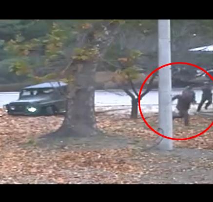 유엔사 'JSA 귀순' 생생한 CCTV 공개