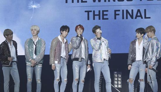 BTS《DNA》入选公告牌2017最佳歌曲百强榜