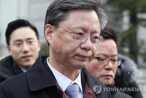 朴槿惠政府擅政门涉案前高官禹柄宇被捕