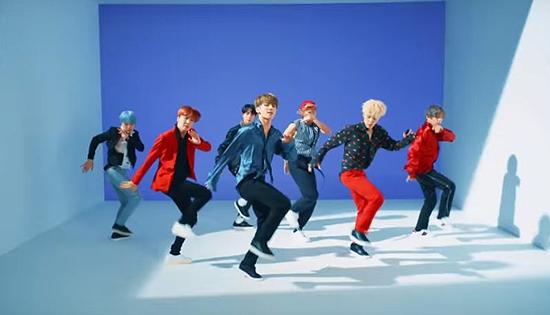 BTS四首歌MV播放量破2亿 《DNA》创最快纪录