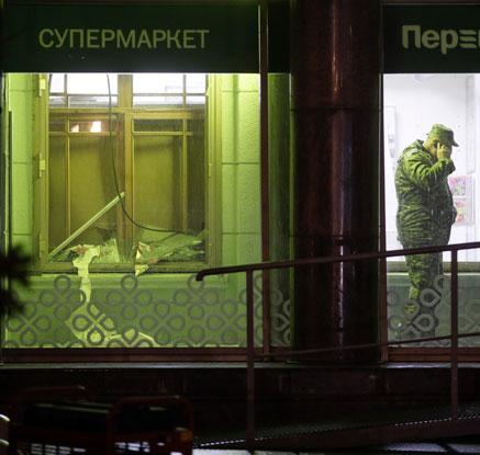 """러 상트페테르부르크 슈퍼마켓서 사제폭탄 폭발…""""9명 부상"""""""
