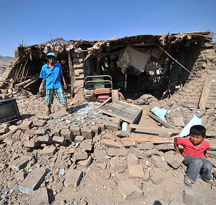 페루 규모 7.1 강진…광산 붕괴로 17명 실종