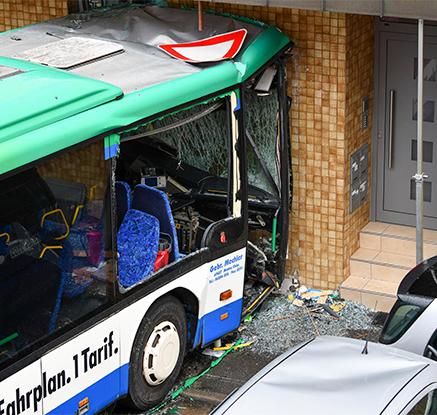 독일서 통학버스 상점 들이받아 47명 다쳐…학생 5명 중상