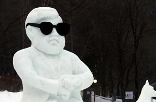 눈 조각·눈꽃의 하얀 세상…태백산 눈축제 개막