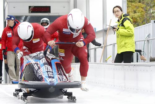 PyeongChang 2018 : le duo de bobsleigh sud-coréen espère un bon résultat aux JO