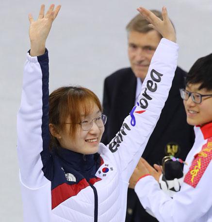 압도적인 최민정, 쇼트트랙 女 1500m 금메달