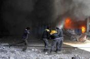 """""""시리아 동구타는 학살장""""…시리아군 공습에 200명 숨져"""