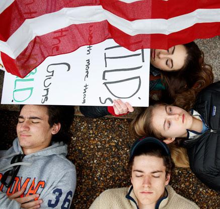 '다음 희생자는 나?'…美 총기 규제 시위 확산