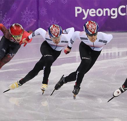 황대헌·임효준 나란히 은·동…쇼트트랙 남자 500m 최초 동반 메달