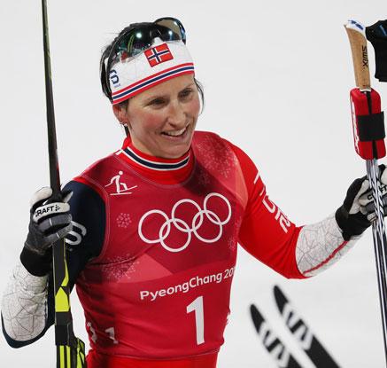 '철녀' 비에르옌, 동계올림픽 메달 14개 최다 신기록