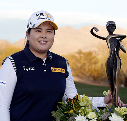 박인비, LPGA 투어 파운더스컵 제패··· 1년 만에 우승
