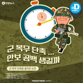 """[카드뉴스] """"우리아들 군 복무 1년6개월로 줄면 어떤 문제 생기나요"""""""