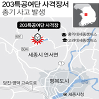 203특공여단 사격장서 총기 사고…1명 사망