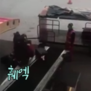 [현장영상] 손님 짐 '내동댕이' 딱 걸린 에어아시아, CEO가 나서서 사과