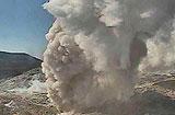 日남부 이오야마 화산 분화…화산연기 300m 치솟아