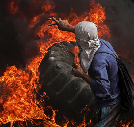가자지구 또 유혈사태…팔레스타인 시위대 4명 사망·100명 부상