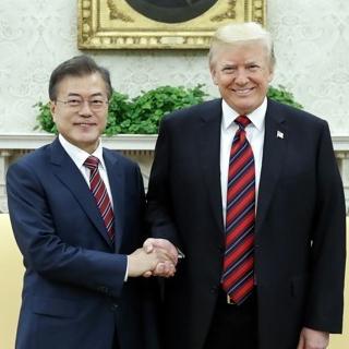 """[현장] 트럼프 """"북미회담 열리면 좋고, 안 열려도 괜찮다"""""""
