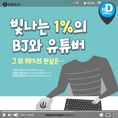 [카드뉴스] 유튜버와 BJ…빛나는 1%, 나머지 99%의 현실은