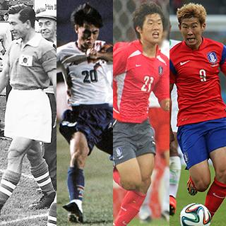 [포토무비] 역대 한국대표팀 월드컵 유니폼 변천사