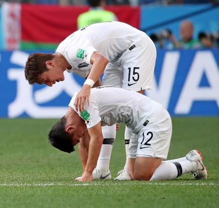 [월드컵]한국, 뼈아픈 PK골 허용…첫판서 스웨덴에 0-1 패배